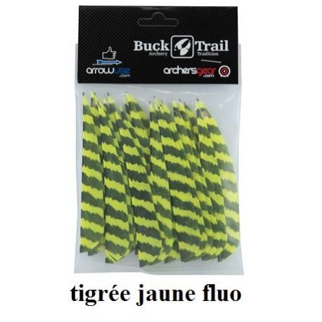 plumes-naturelles-buck-trail-jaune-fluo-2