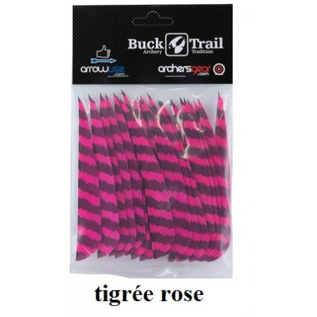plumes-naturelles-buck trail-rose